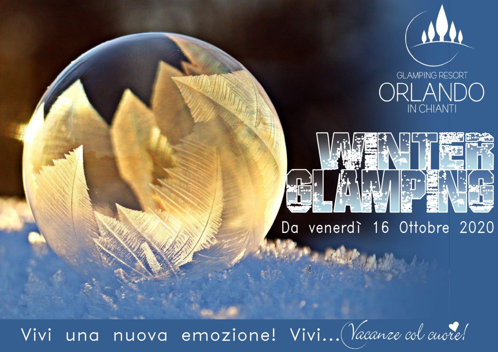 Orlando in Chianti Winter Glamping    Opening soon